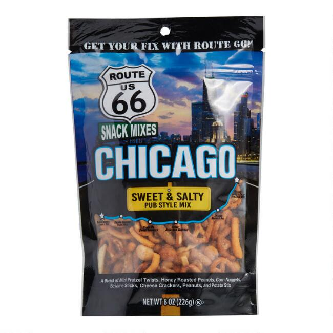 Route 66 Chicago Sweet And Salty Pub Snack Mix