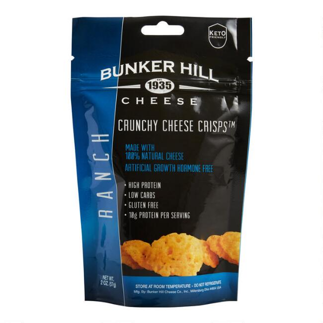 Bunker Hill Ranch Crunchy Cheese Crisps