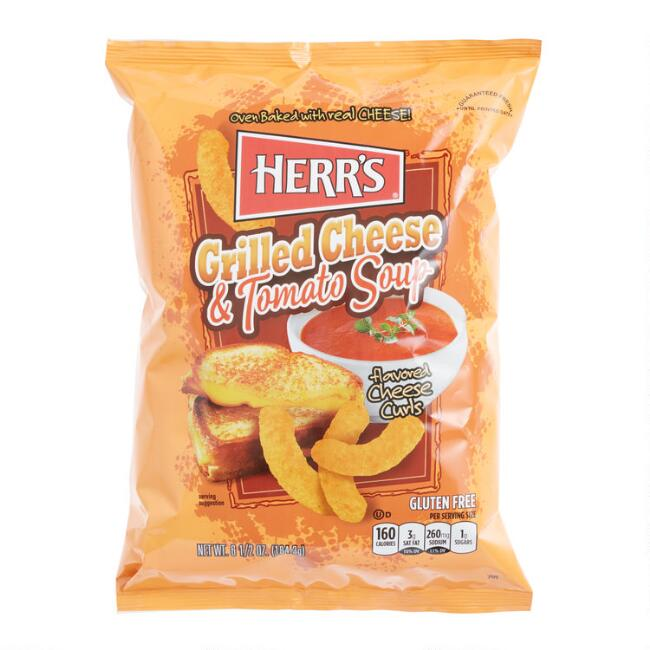 Herr's Grilled Cheese And Tomato Soup Cheese Curls
