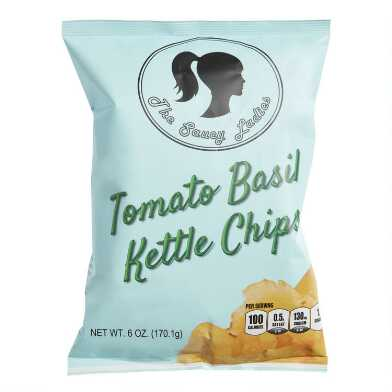 The Saucy Ladies Tomato Basil Kettle Chips