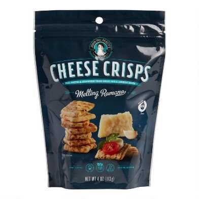 Macy's Melting Romano Cheese Crisps