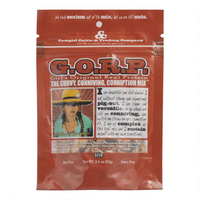 Cowgirl Cattle Curvy, Conniving, Conniption Trail Mix