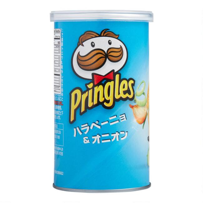 Japanese Pringles Jalapeno Potato Crisps Set Of 12