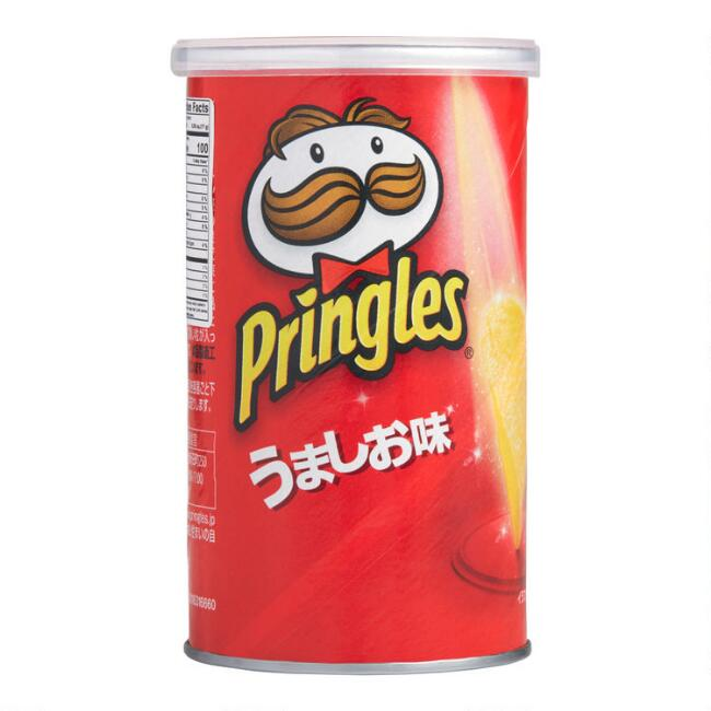 Japanese Pringles Salt Potato Crisps Set Of 12