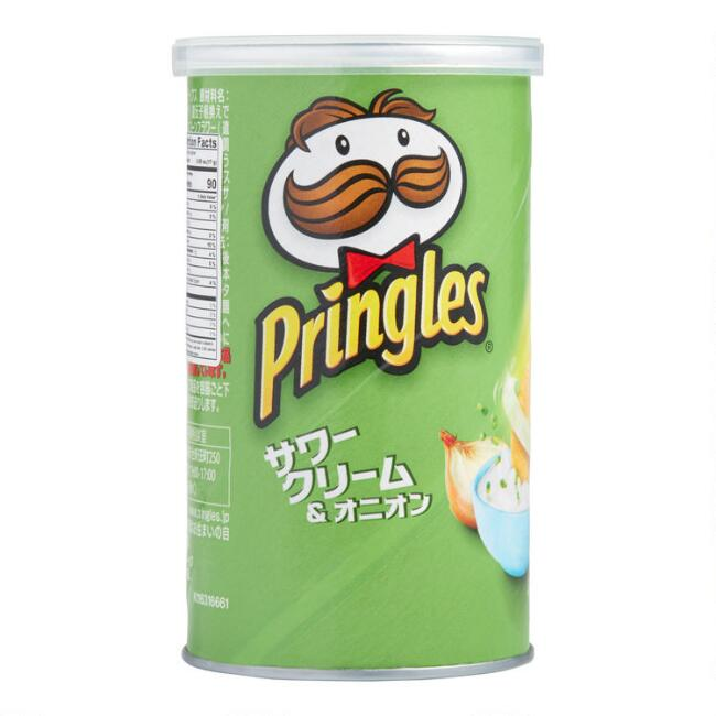 Japanese Pringles Sour Cream & Onion Potato Crisps Set Of 12