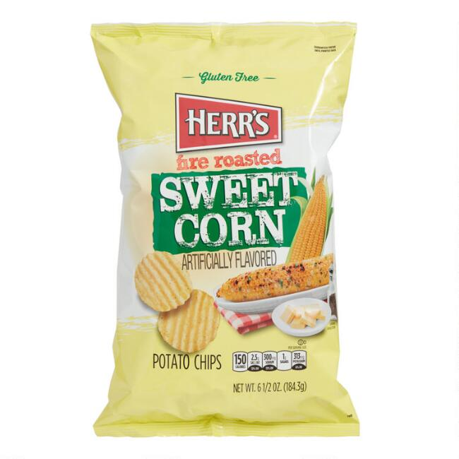 Herr's Fire Roasted Sweet Corn Potato Chips