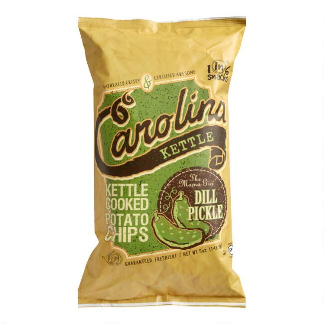 Carolina Kettle Mama Gin Dill Pickle Potato Chips