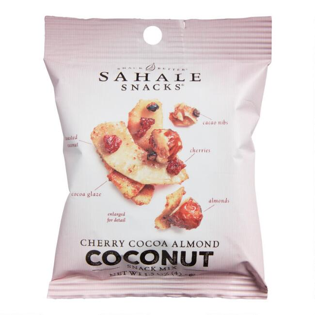 Sahale Cherry Cocoa Almond Coconut Mix Snack Size