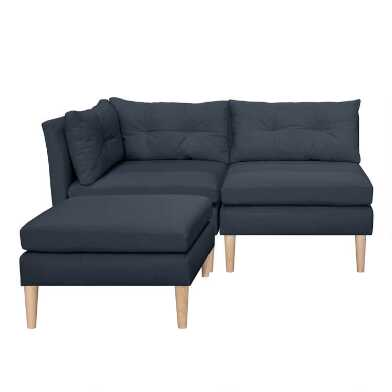 Kennedy 3 Piece Modular Sectional Sofa