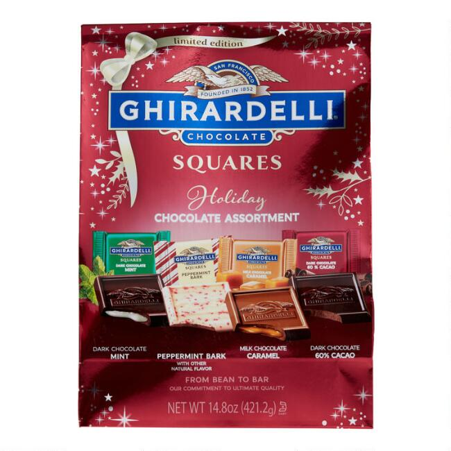Ghirardelli Holiday Limited Edition Chocolate Squares Bag