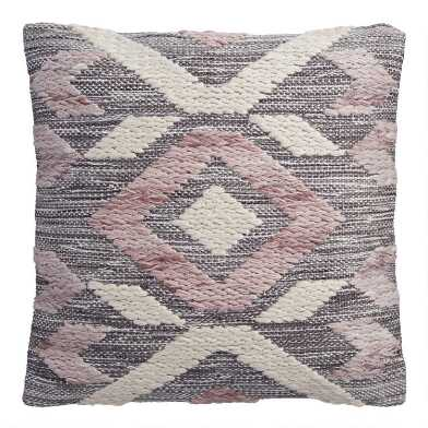 Lavender Diamond Indoor Outdoor Throw Pillow
