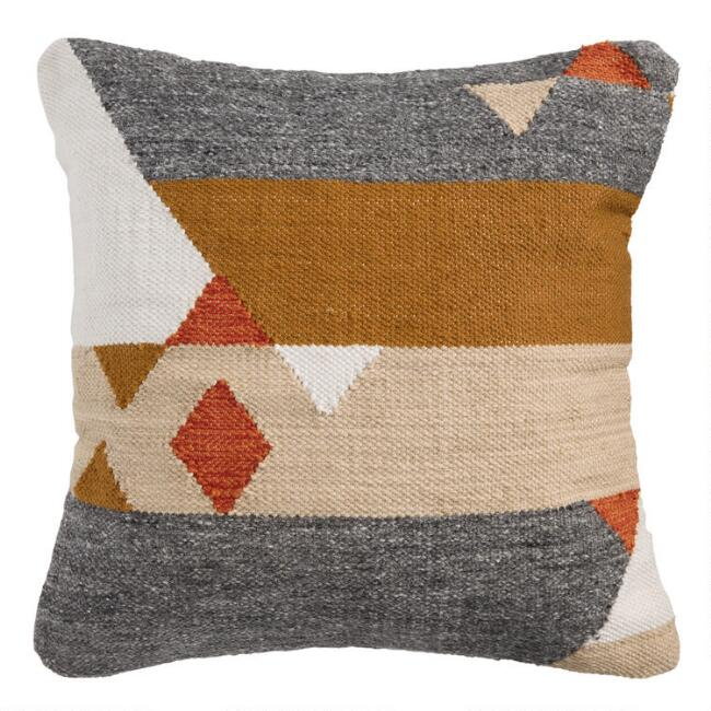 Multicolor Plateau Indoor Outdoor Throw Pillow