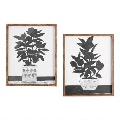 Namos Planted By Kristine Hegre Framed Wall Art Set Of 2