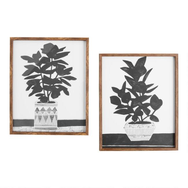 Namsos Planted By Kristine Hegre Framed Wall Art Set Of 2