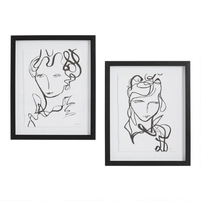 Fabulous by Nikol Wikman Framed Wall Art Set of 2