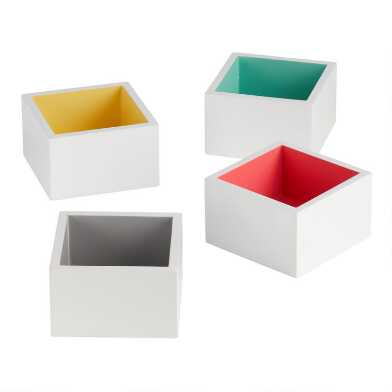 Small Square Lacquer Kinsley Tray