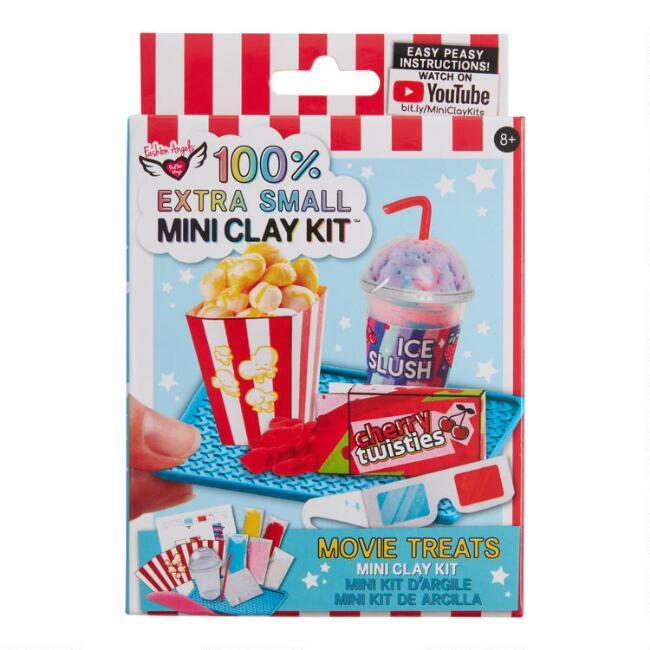 100% Extra Small Mini Movie Treats Clay Craft Kit