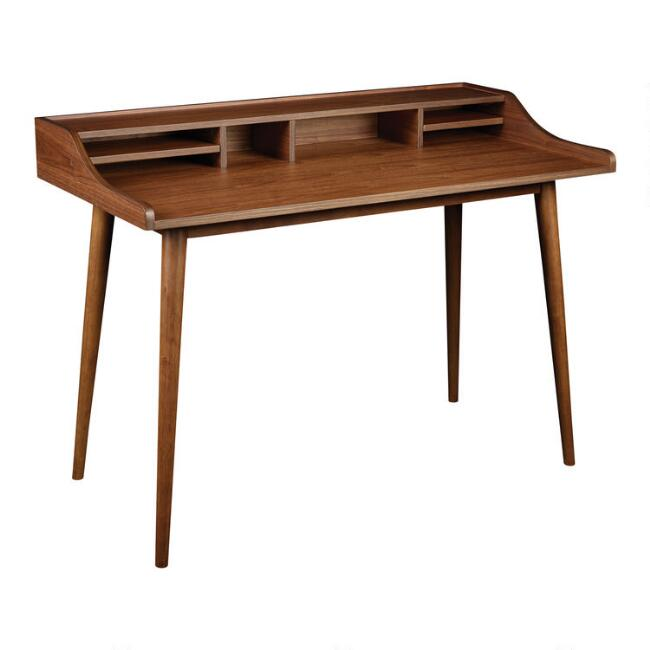 Walnut Wood Oneida Desk