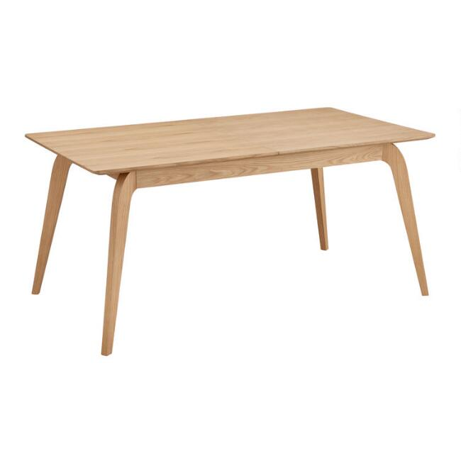 Walnut Wood Mercer Extension Dining Table