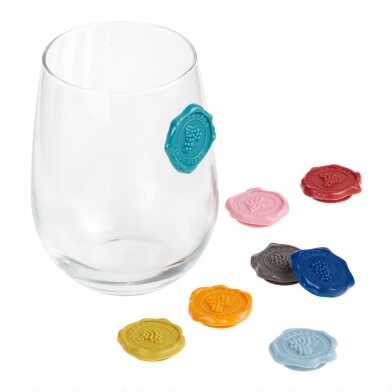 Vacuvin Glass Markers Classic 8 Pack