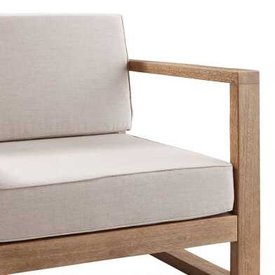 Sunbrella Segovia Outdoor Occasional Chair Slipcovers