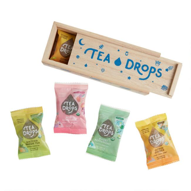 Tea Drops Classic Tea Sampler Box 8 Count
