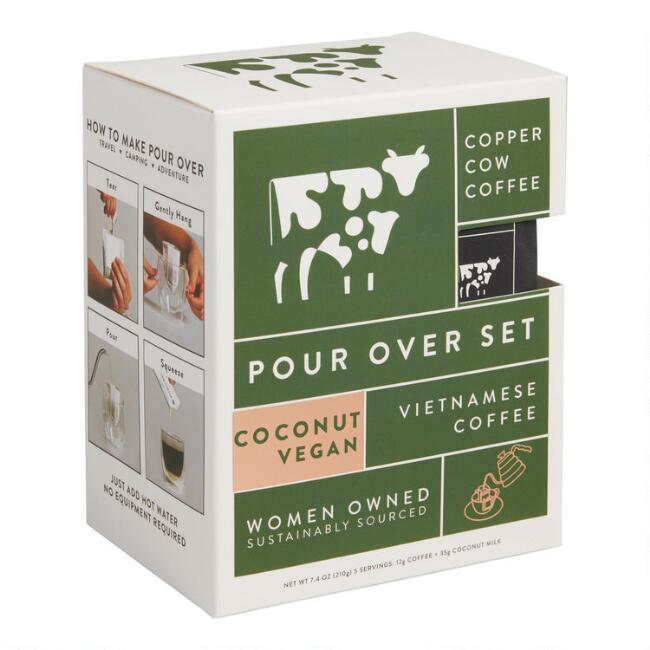 Copper Cow Coffee Coconut Vegan Vietnamese Coffee 5 Pack