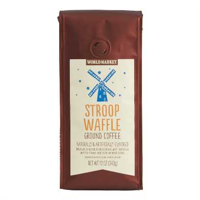 12 Oz. World Market® Stroop Waffle Ground Coffee