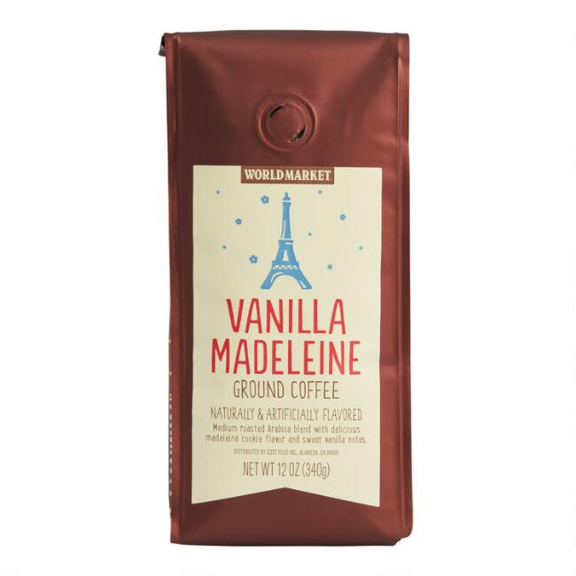 12 Oz. World Market® Vanilla Madeleine Ground Coffee