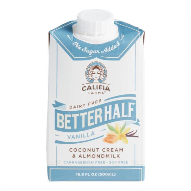 Califia Farms Vanilla Better Half Dairy Free Creamer