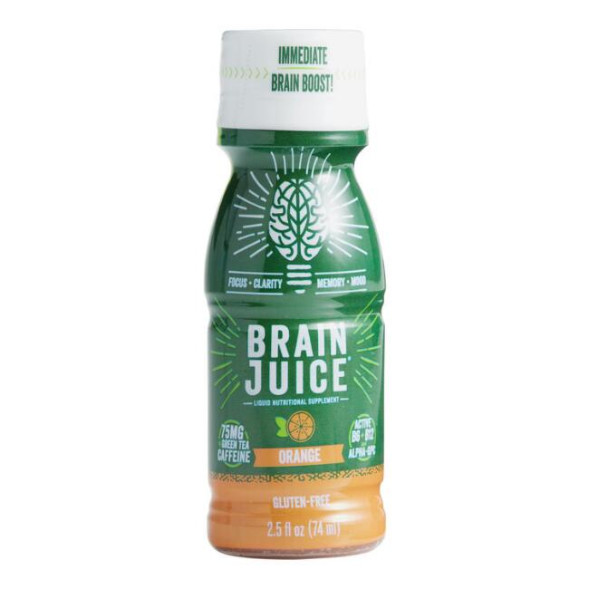 BrainJuice Orange Liquid Supplement