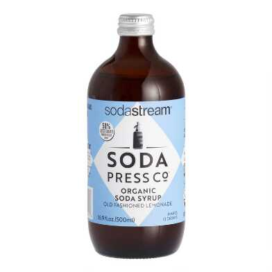 Soda Press Organic Lemonade Soda Syrup