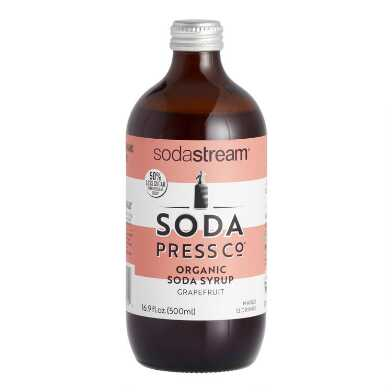 Soda Press Organic Grapefruit Soda Syrup
