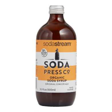 Soda Press Organic Ginger Ale Soda Syrup