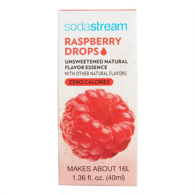 SodaStream® Raspberry Fruit Drops Set of 6