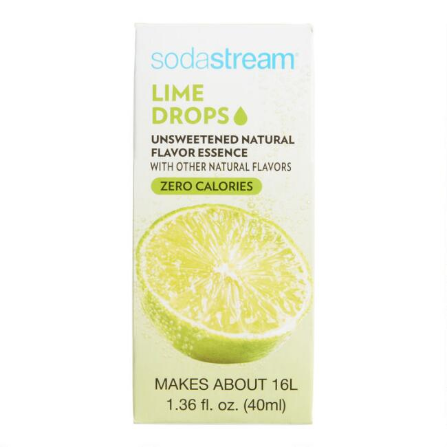 SodaStream® Lime Fruit Drops Set of 6