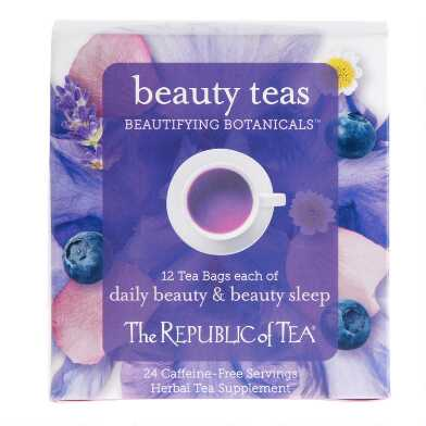 The Republic Of Tea Beautifying Botanicals Tea 24 Count