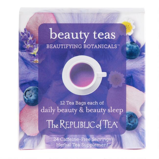 The Republic of Tea Beautifying Botanicals Gift Set 24 Count