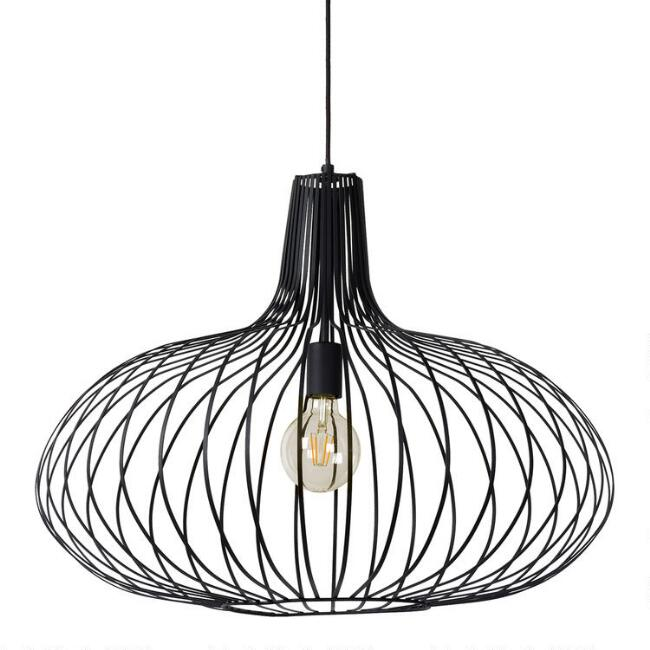 Large Metal Cage Jorna Pendant Lamp