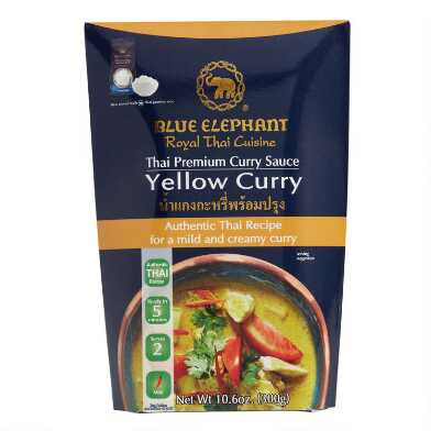 Blue Elephant Yellow Curry Sauce