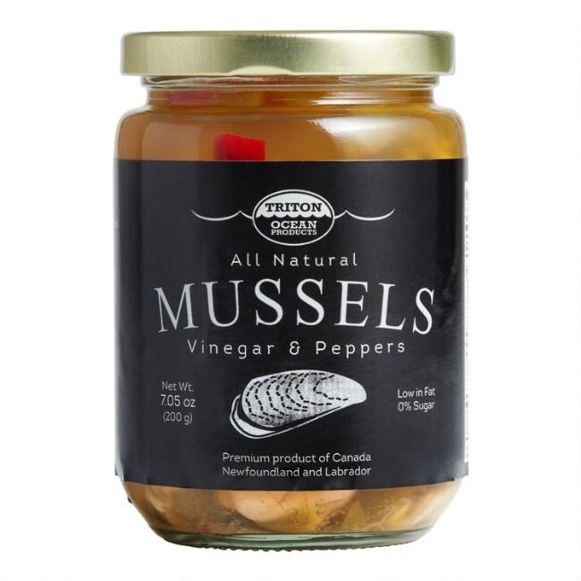 Triton Mussels in Vinegar with Peppers