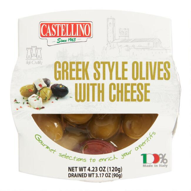 Castellino Greek Olives with Ricotta Cheese