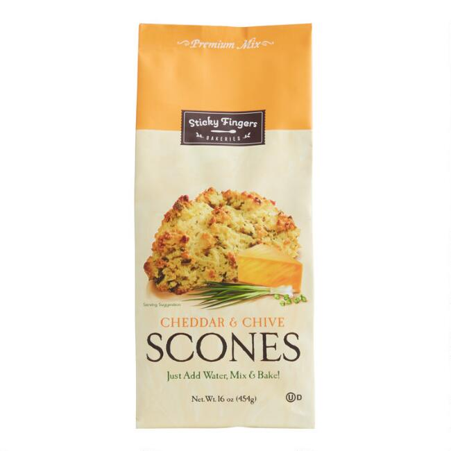Sticky Fingers Cheddar and Chive Scone Mix Set of 2