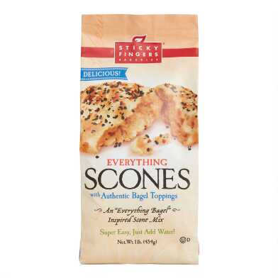 Sticky Fingers Everything Bagel Scone Mix Set of 2