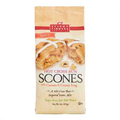 Sticky Fingers Hot Cross Bun Scone Mix Set of 2