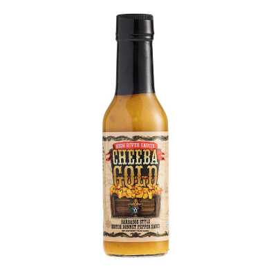 Cheeba Gold Barbados Style Scotch Bonnet Pepper Sauce