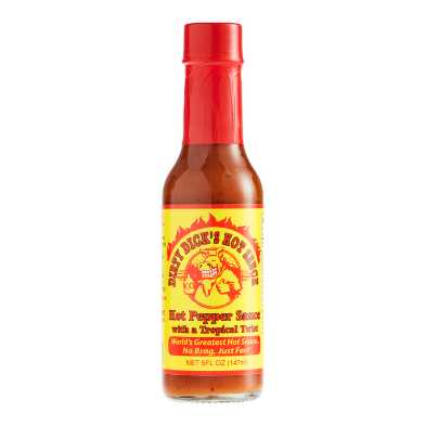 Dirty Dick's Tropical Hot Pepper Sauce