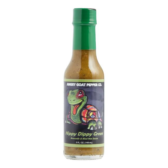 Angry Goat Pepper Company Hippy Dippy Green Hot Sauce