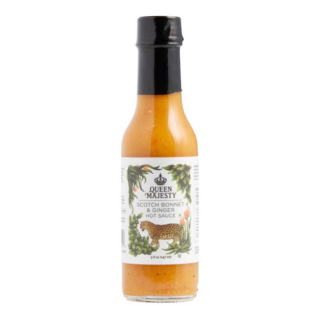 Queen Majesty Scotch Bonnet and Ginger Hot Sauce