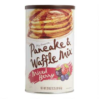 My Favorite Mixed Berry Pancake and Waffle Mix